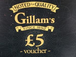 £5 voucher